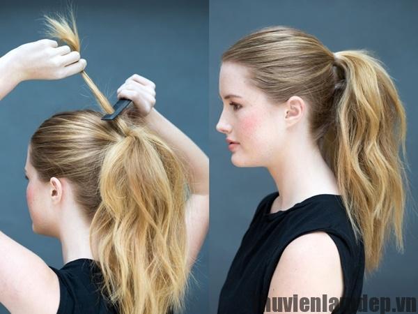 Học cách tết tóc đuôi ngựa tuy đơn giản nhưng cực sang chảnh cho nàng thêm xinh trong hè 2017