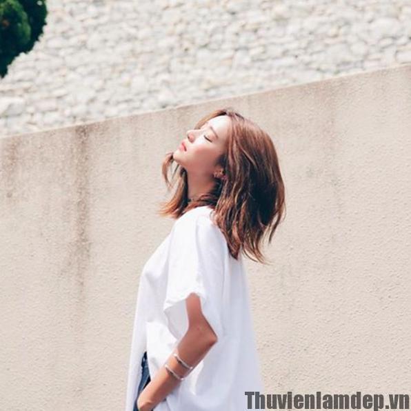 Kiểu tóc ngắn chạm vai đẹp Hot thu đông khiến phái đẹp không thể không mê